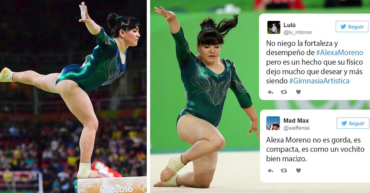 Porque es más fácil juzgar: redes se burlan de la gimnasta Alexa Moreno sólo por su peso