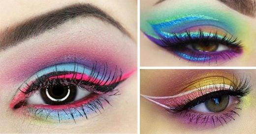 fotos que te harán querer ser una experta en el arte del delineado de ojos