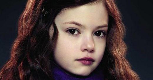 Así ha crecido la niña que interpretó a Renesmee Cullen en Amanecer. ¡Es guapísima!