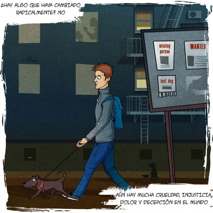 Este tierno comic refleja todo lo que vives cuando adoptas a un perro