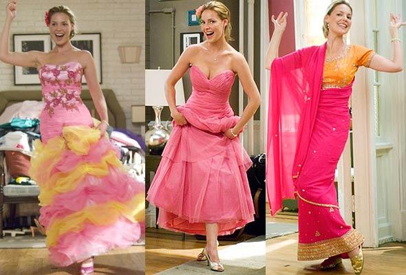 Imágenes de la película 27 vestidos.