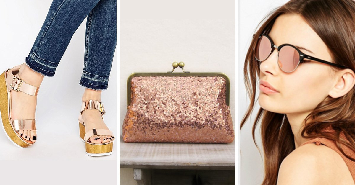 Inspirate con estas 25 ideas de regalo para una chica amante del rose gold
