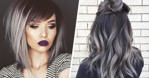El cabello en degradé gris es el último grito de la moda