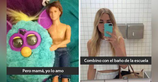 Los 25 snapchats enviados más graciosos