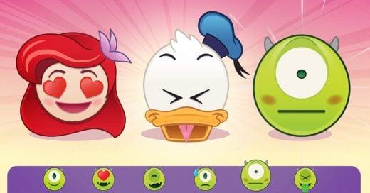 Disney lanza 400 emojis de sus personajes principales