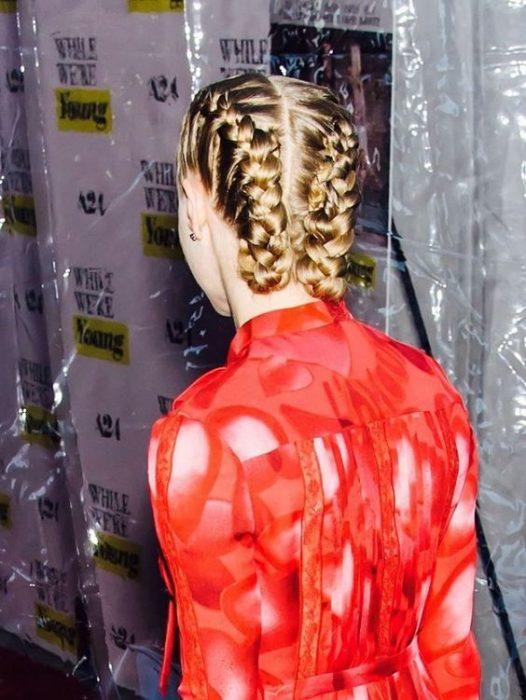 Trenzas boxer braids.