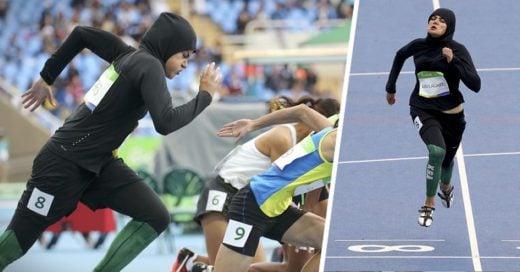 A pesar de usar un hijab esta chica de Arabia Saudita ha causado historia
