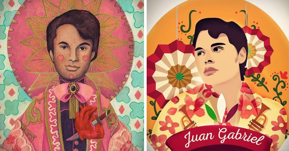 El mundo está de luto; Artistas e ilustradores despiden así al 'Divo de Juárez', Juan Gabriel