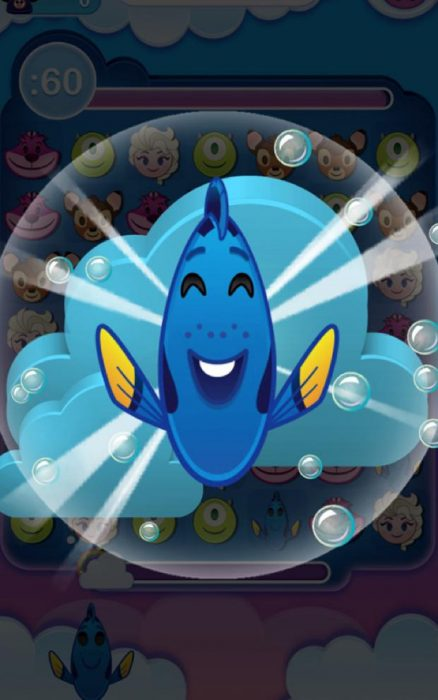 Nemo se convierte en un emoji.