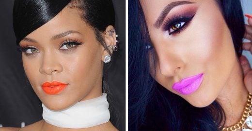 tonos de lipstick para piel morena