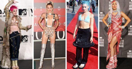 Los atuendos más extravagantes y raros de los VMA de MTV