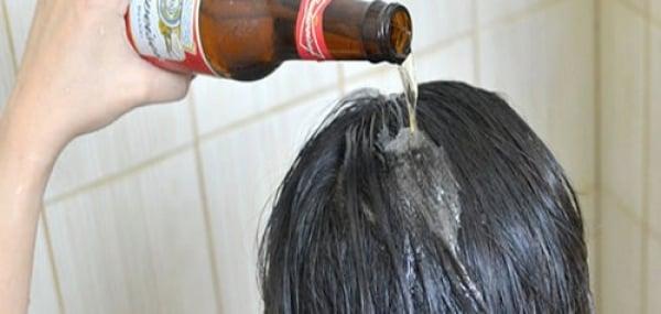 Cerveza para evitar la caída del cabello.
