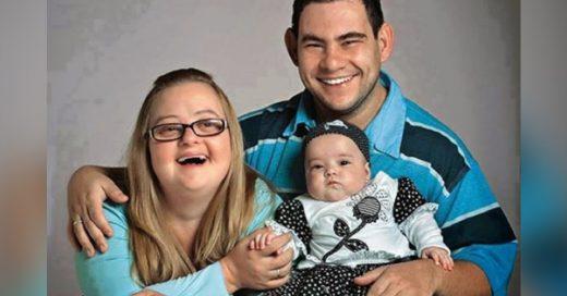 Amor a prueba de dudas: padres de Valentina tienen discapacidad y ella nació sana