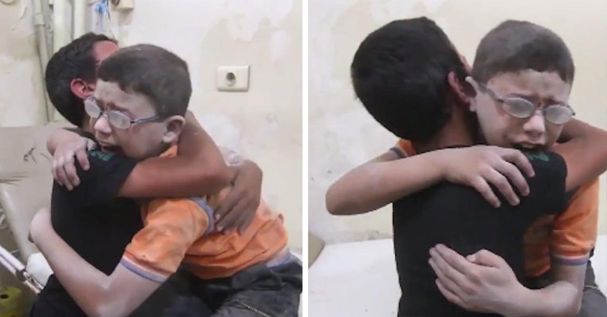 Niños sirios se convierten en iconos de horror de una guerra que parece no tener fin