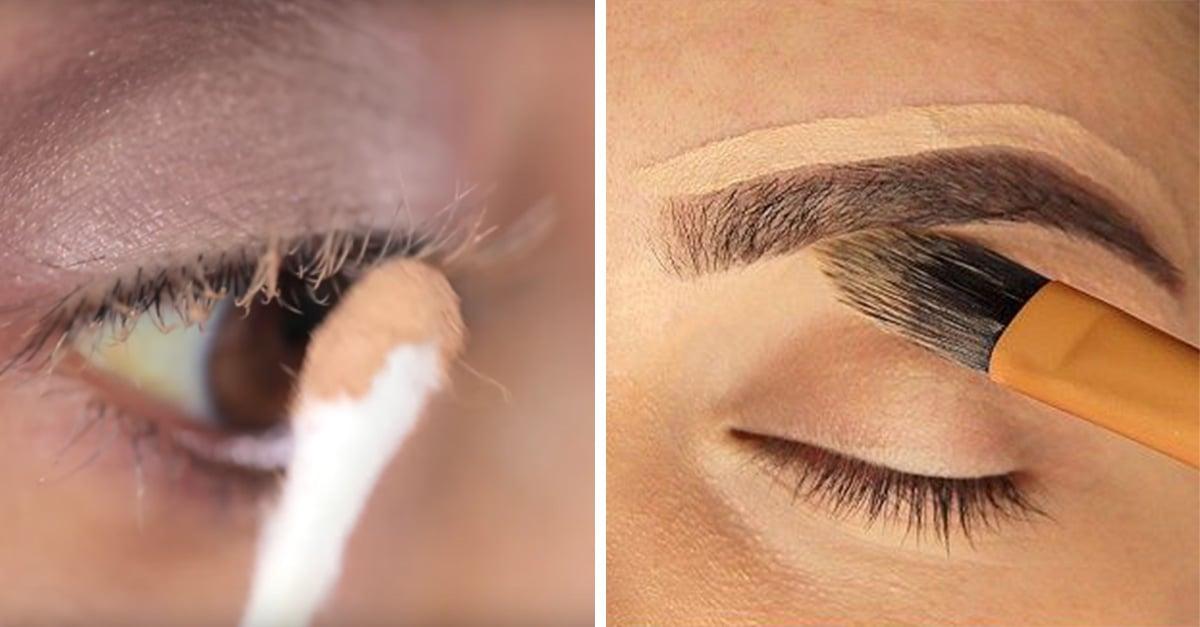 15 Trucos que puedes hacer con corrector de ojos y que facilitarán tu vida.