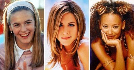 Peinados y accesorios con los que todas las chicas de los 90's estuvimos obsesionadas