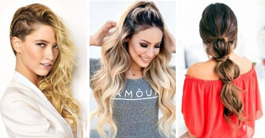 15 Peinados sencillos y rápidos para lucir genial cada día