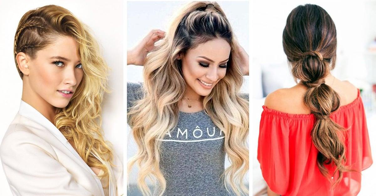 15 Peinados Sencillos Y Rapidos Para Lucir Genial Cada Dia