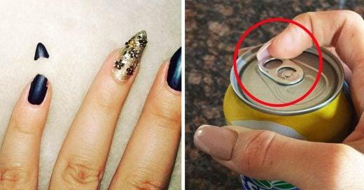 15 Momentos incómodos que las chicas con uñas han vivido