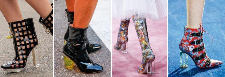 Zapatos de las pasarelas.