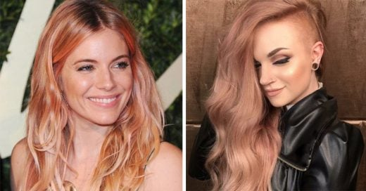 Rose gold es el color de la temporada