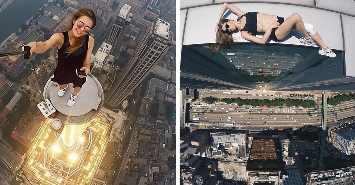 La chica rusa que desafía a la muerte con sus fotos