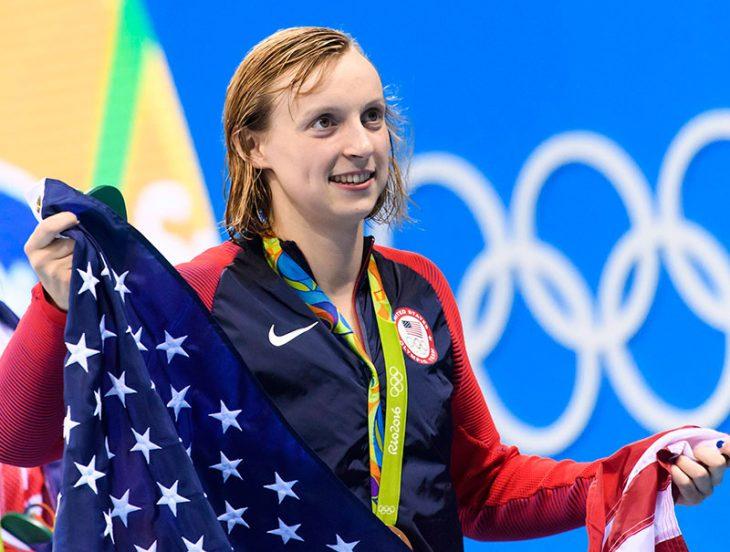 Campeona de natación.