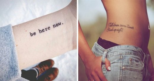 tatuajes de frases que cambiarán tu vida