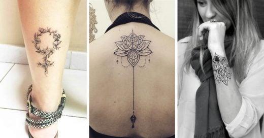 tatuajes delicados que te harán lucir más bella