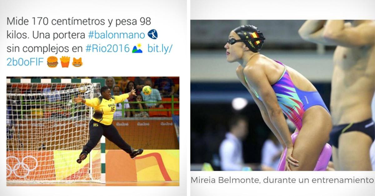 Los 10 titulares más sexistas y discriminatorios que se han visto en los Juegos Olímpicos de Río