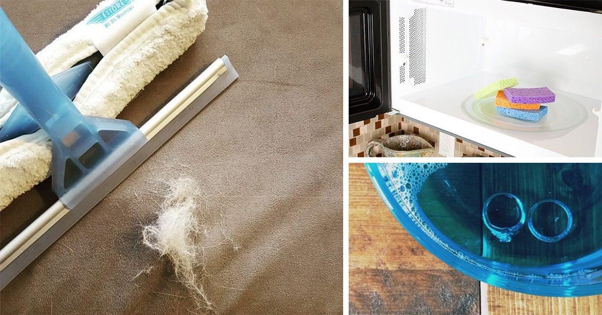 mejores trucos de limpieza que Instagram nos regala