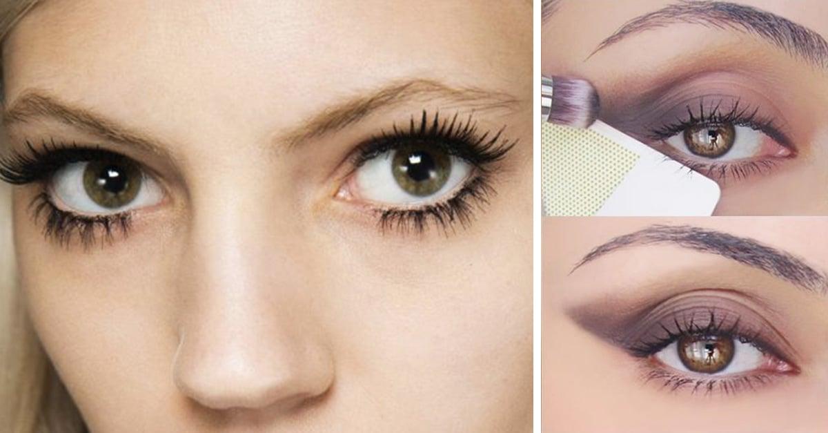 increíbles consejos de maquillaje para párpados caídos