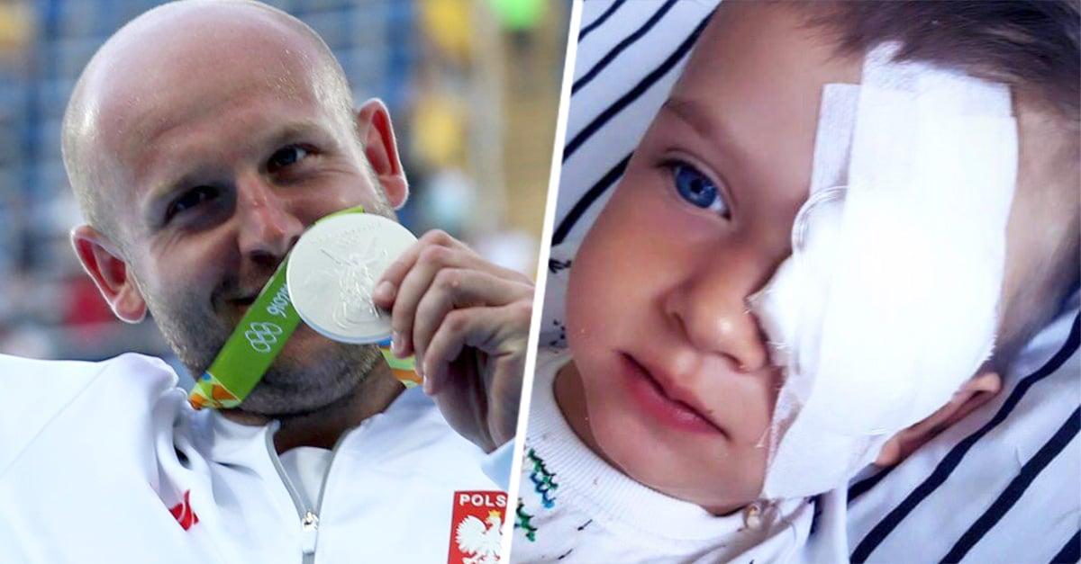 Este atleta piensa subastar su medalla de plata para darle un valor más grande: el de salvar la vida de un niño con cáncer