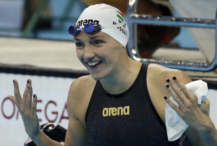 Katinka Hosszú, nadadora húngara.