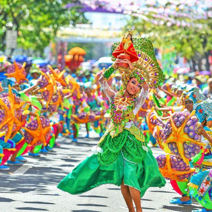 Importante carnaval en el mundo.