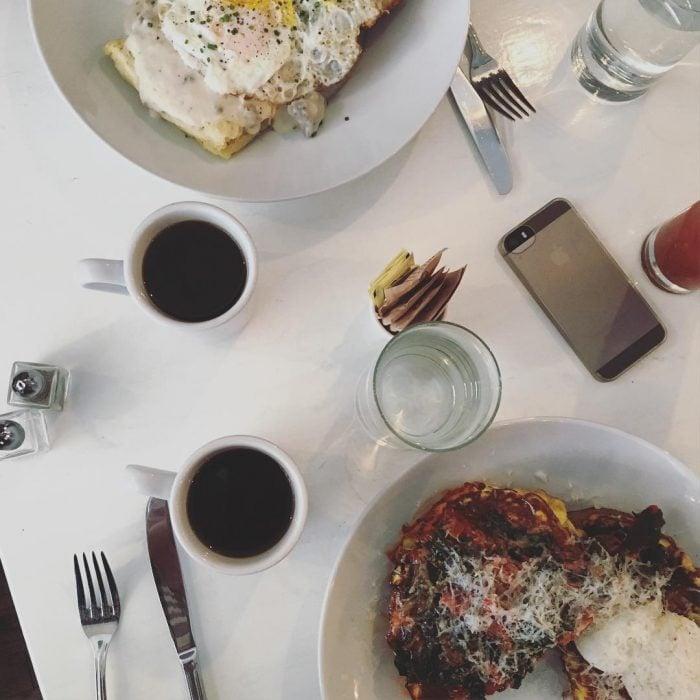 Desayuno para dos.