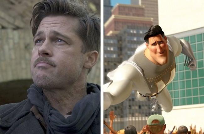 Brad Pitt Metro Man