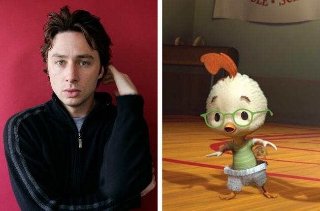 Zach Braff and Chicken Little