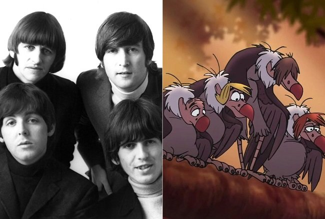 The Beatles and Vultures