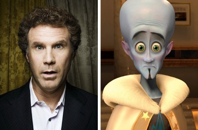 Will Ferrell and Megamind