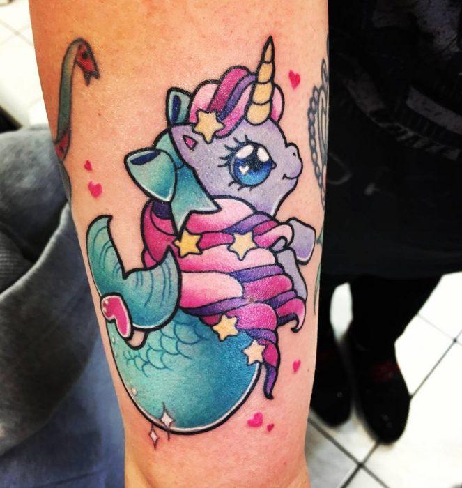 unicorn tattoo