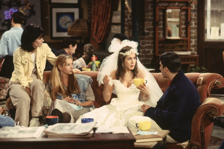 Escena de Friends