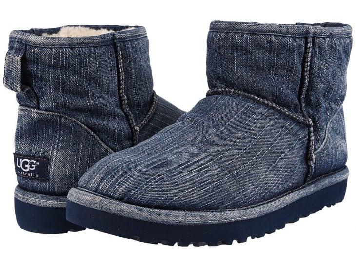 botas de mezclilla