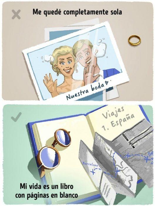ilustración de pareja y libro