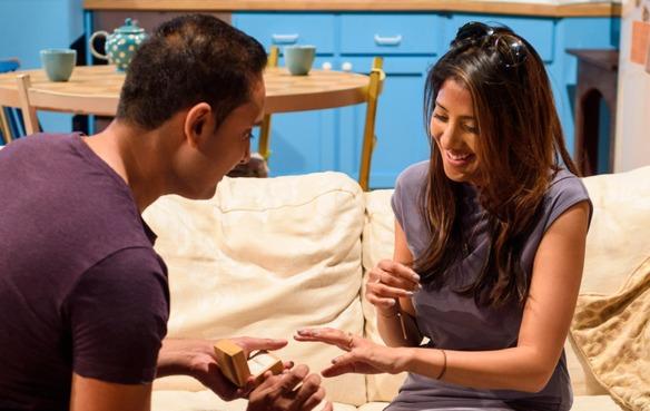 Propuesta de matrimonio de Krunal Desai.