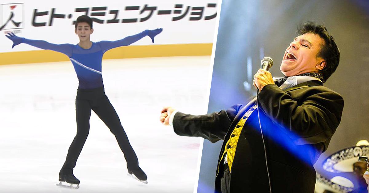 Adolescente mexicano sorprende sorprende en Japón patinando al ritmo de Juan Gabriel