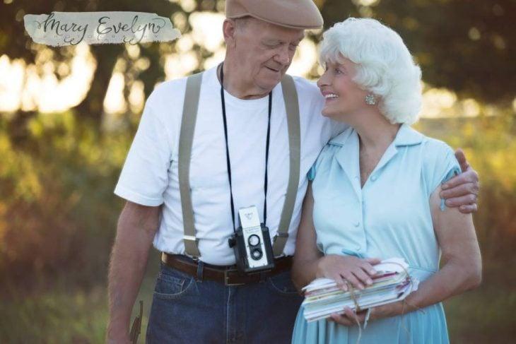 Pareja de ancianos recrean escenas de The notebook
