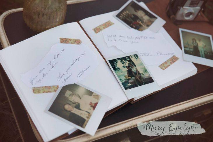 Libro de recuerdos de matrimonio de 57 años