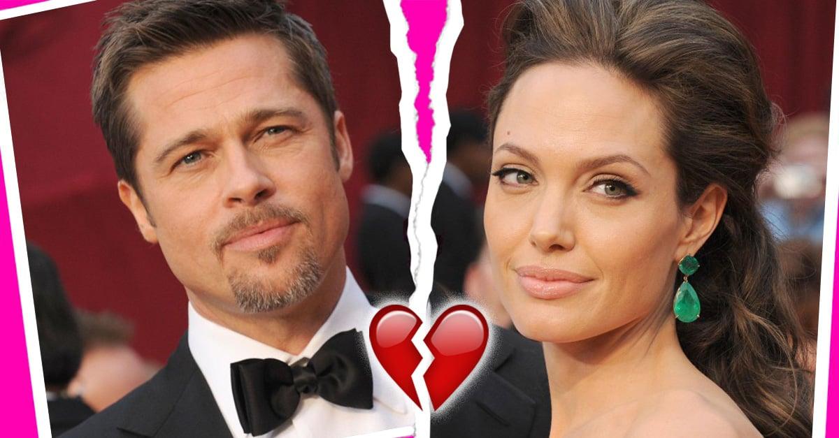 Angelina Jolie y Brad Pitt nos rompen el corazón después de anunciar que se divorcian