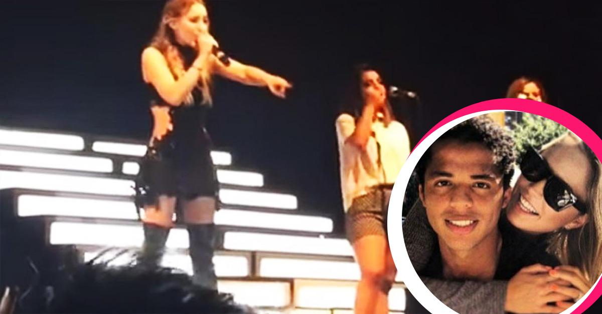 Belinda, 'La chica escándalos' corrió a una fan de su concierto y ahora ya sabemos quién es